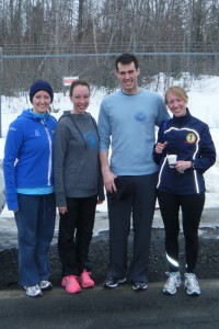 Runners after Run Nova Scotia's 8 mile race