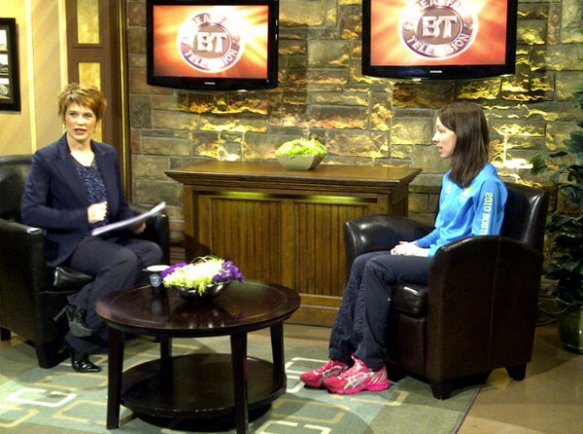 Erin Poirier and Heidi Petracek on Breakfast Television