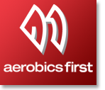 Running store Aerobics First logo