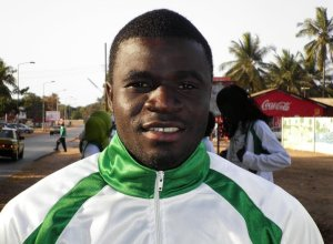 Gambian athlete Pa Modou Sarr