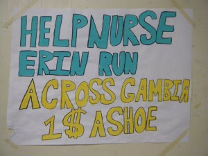 high school students support their nurse