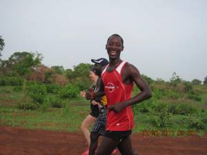 Gambian athlete and runner Dodou Bah