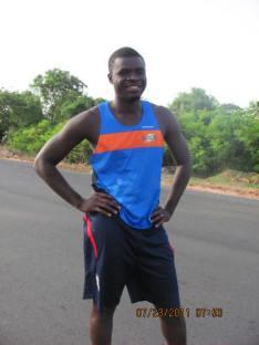 Gambian runner Pa Modou Sarr