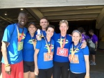 Love4Gambia Blue Nose Runners