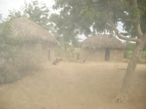 The village we were traveling to