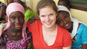 Rachel in The Gambia