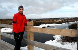 runner winter training