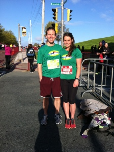 Steve and I before the run
