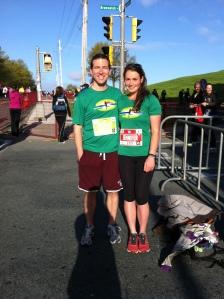 Steve and I before the run